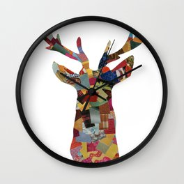 The Stag Wall Clock