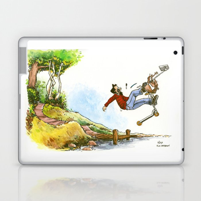 Going for a ride Laptop & iPad Skin