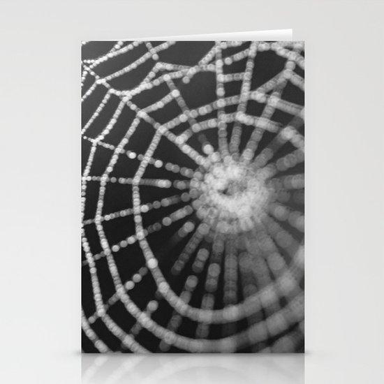 Bokeh Web  Stationery Cards