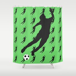 What a Kicker Shower Curtain