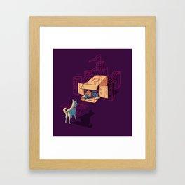 Halt! Who Goes There? Framed Art Print