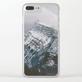 Mount Rundle Clear iPhone Case