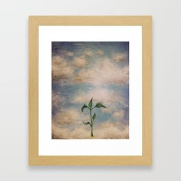 Fresh Development Framed Art Print