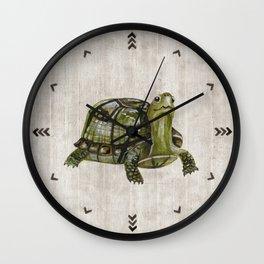 Little Turtle, Forest Animals, Woodland Decor, Woodland Art, Wall Clock