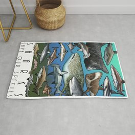 Save Our Species - Sharks Rug