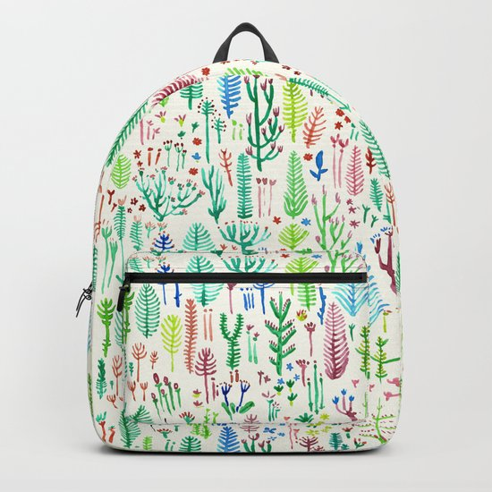 tROPICAL COLORS PLANTS Backpack