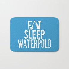 Eat sleep waterpolo Bath Mat