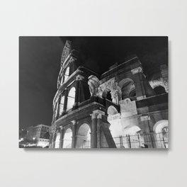 Coliseum by night Metal Print