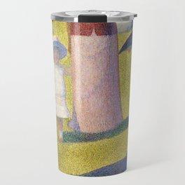 A Sunday on La Grande Jatte by Georges Seurat, 1884 Travel Mug