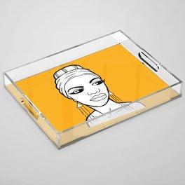 Nina Simone Acrylic Tray