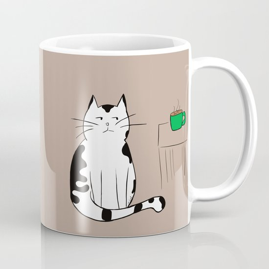 Java the Coffee Cat by melindatodd