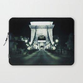 Budapest Chain Bridge Laptop Sleeve