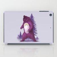 bear iPad Cases featuring Scare Bear by Terry Fan
