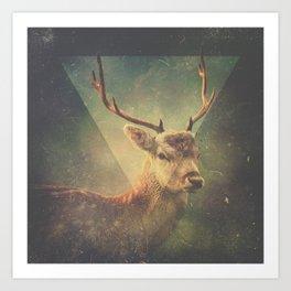Oh, Deer! Art Print