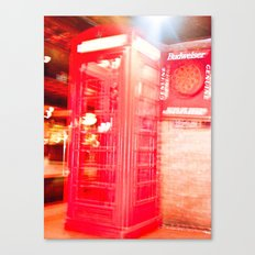 Communication in 3D. Canvas Print