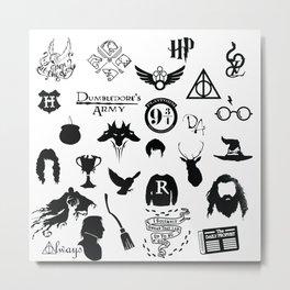 potter's head Metal Print