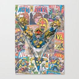 Nova Comic Art Canvas Print