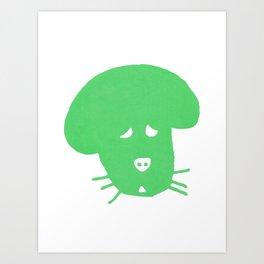 Willow Print- Green Art Print