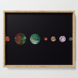 Another solar system Serving Tray