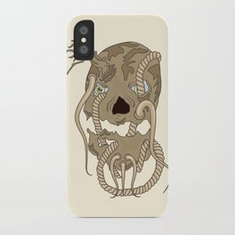 Dead Living by Tree iPhone Case