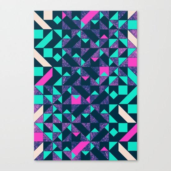 GEOMETRIC COLOUR POP Canvas Print