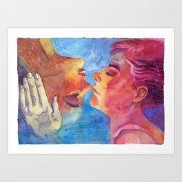 Imaicab, baciami Art Print