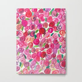 Rosie Pink Metal Print
