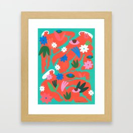 A Land Without Patriarchy Framed Art Print