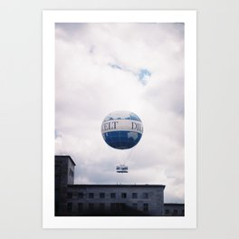 Flying Berlin Art Print