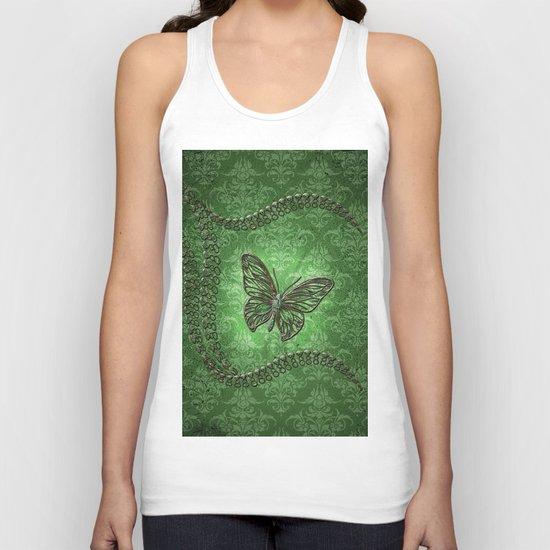 Decorative butterfly Unisex Tank Top