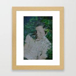 P.L. Framed Art Print