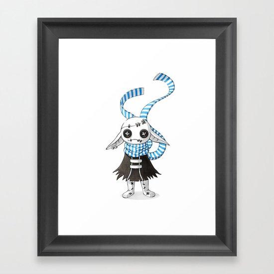 Rag Doll Framed Art Print