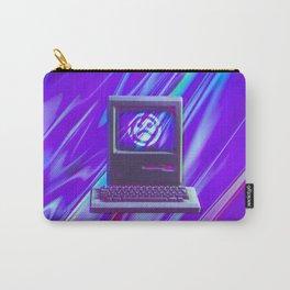 Vaporwave Sad Glitch Computer Carry-All Pouch