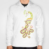 india Hoodies featuring India by ASerpico Designs