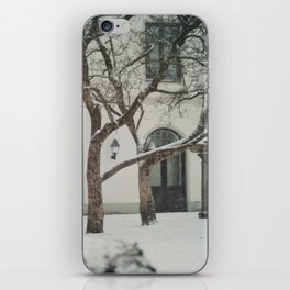 snow in wels (2) iPhone Skin