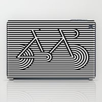 bicycle iPad Cases featuring Bicycle by AndISky