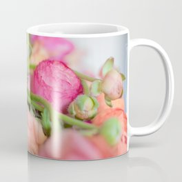 Fiery Red Flowers Coffee Mug