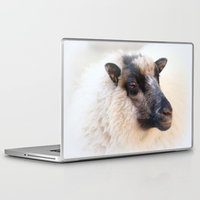 sheep Laptop & iPad Skins featuring sheep by Bunny Noir