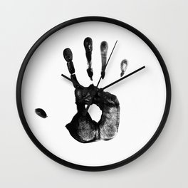 my hands Wall Clock