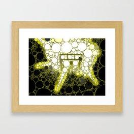 "Alien Landing Party - from ""Further Back"" series Framed Art Print"