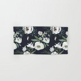 Rustic Floral Print Hand & Bath Towel