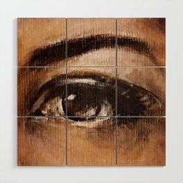 One Eye Wood Wall Art