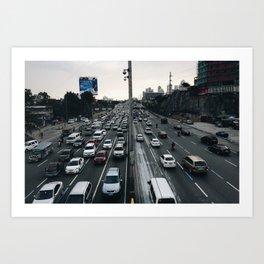 The Great C5 Highway Art Print
