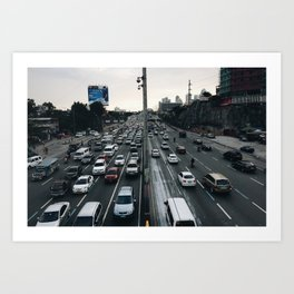 The Great C5 Highway Art Print