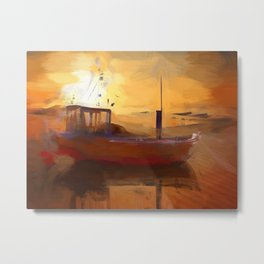 The arc Metal Print