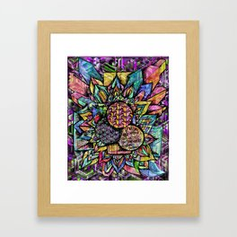 Mandala #1092a Framed Art Print