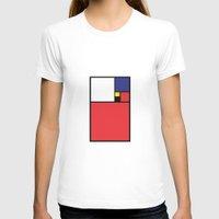 fibonacci T-shirts featuring MONDRIAN meet FIBONACCI by MERCURY