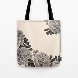 Flowers on a winter day Tote Bag