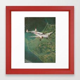 Fighter Aerial  Framed Art Print