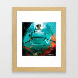 Surfqueen Framed Art Print